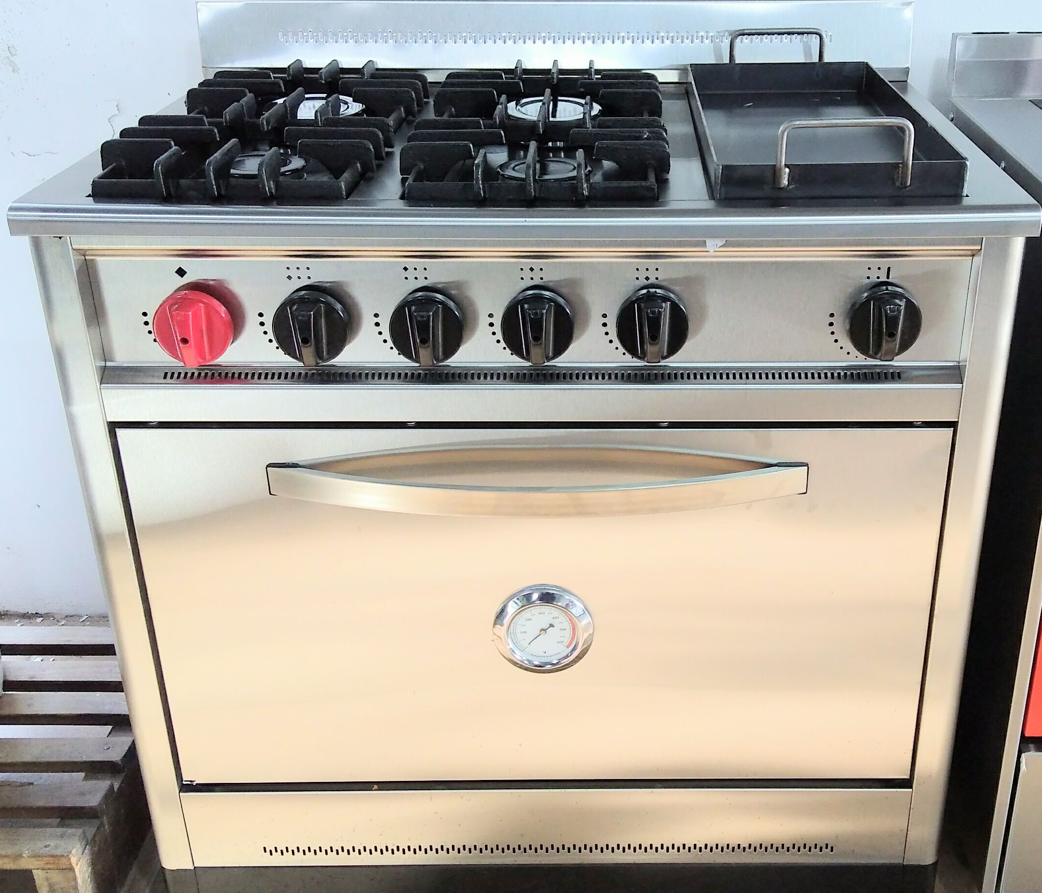Cocina ares 90cm con plancha incorporada casa eduardo - Cocinas con plancha incorporada ...
